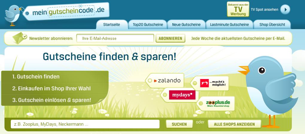 online gutscheincodes