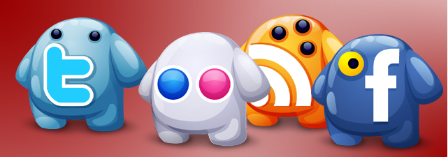 Creature Social Icons