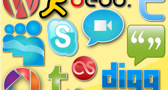 Social Networking Vector Icon Pack