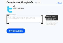 ifttt complete action fields 2