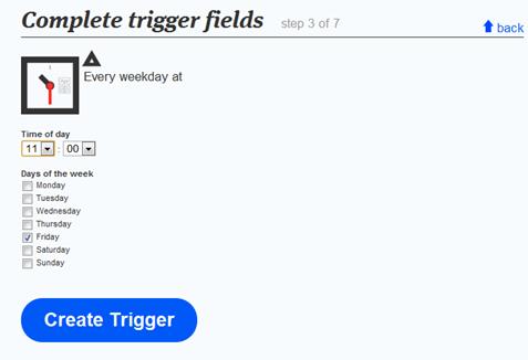 ifttt complete trigger fields