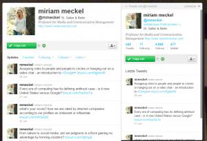 Miriam Meckel Twitter