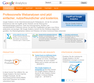 Google Plus Google Analytics Webmaster Tools