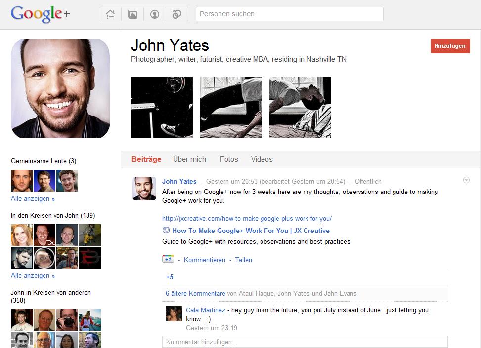 Google Plus Profilbanner 2