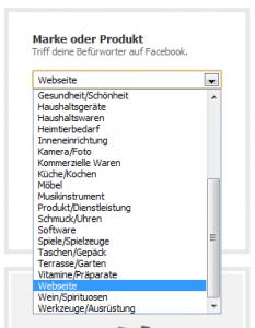 Facebook Fanpage erstellen - Blog Marke Produkt