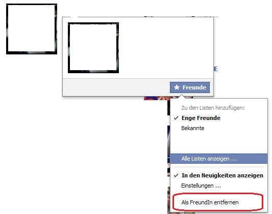 Facebook Freunde löschen - so einfach geht es - Lesen bei