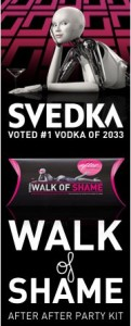 Svedka Vodka Walk of Shame