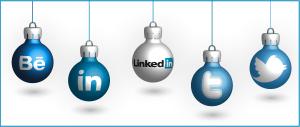 Christmas Social Icons - Christbaumkugeln