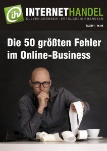 Titelblatt INTERNETHANDEL Ausgabe Nr.98 12-2012 Fehler im Online-Business