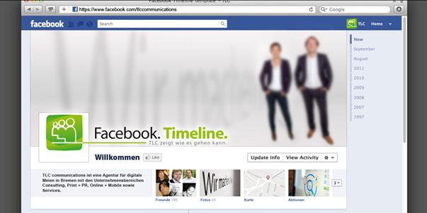 Facebook Fanpage Timeline