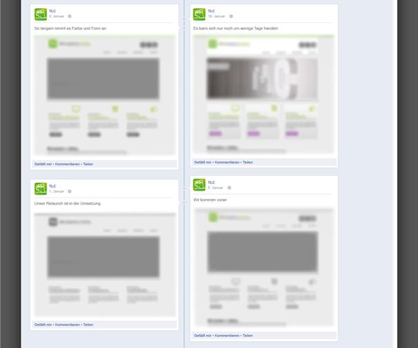 Facebook Fanpage Timeline 2