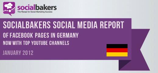 Social Media Report Januar 2012