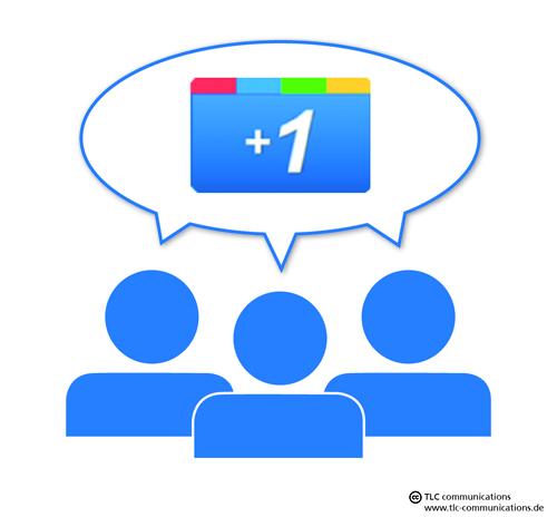 Google Plus - Empfehlungsmarketing