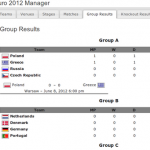 Euro 2012 Predictor Fussball Tippspiel Plugin