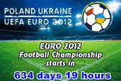 Fussball EM 2012 Countdown