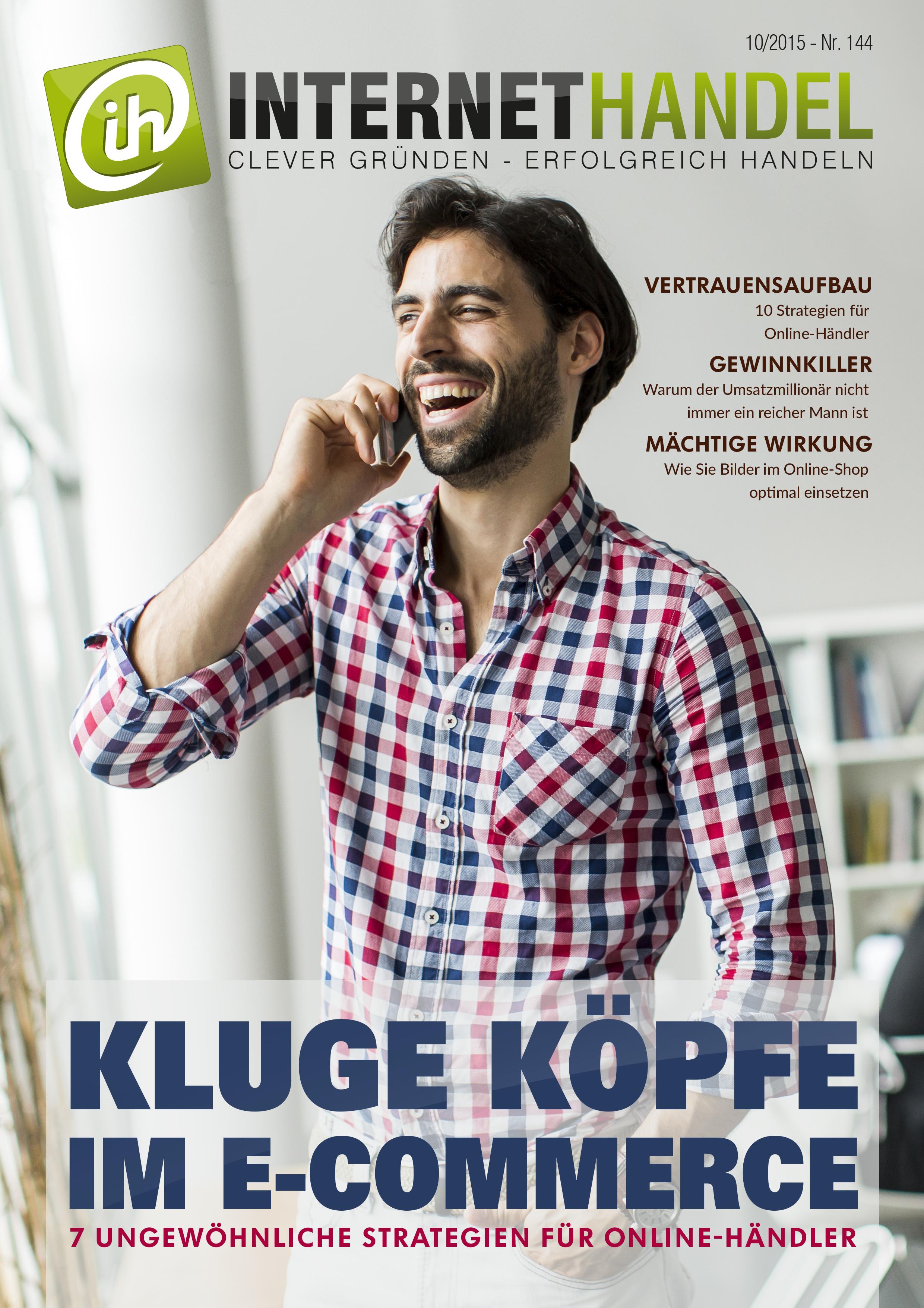 Titelbild-Internethandel-de-Nr-144-10-2015-Kluge-Koepfe-im-E-Commerce