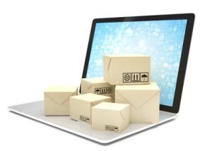 Online Shop Paketversand