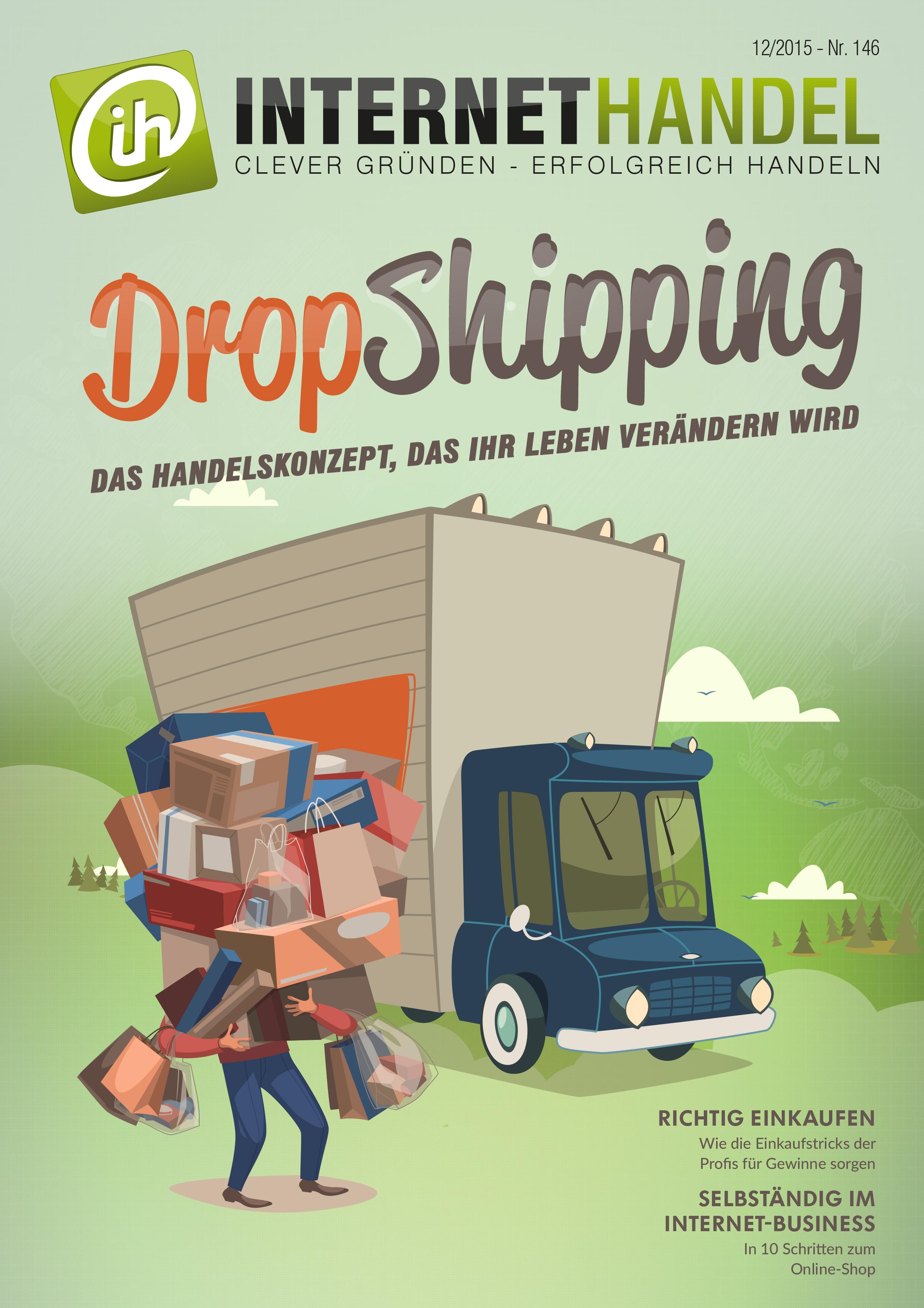 Titelbild-Internethandel-de-Nr-146-12-2015-DropShipping-Das-Handelskonzept-das-Ihr-Leben-veraendern-wird