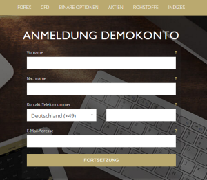 CFD Demokonto