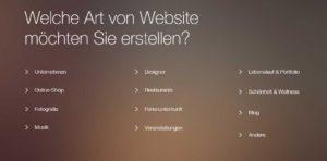 Webseite erstellen mit Wixcom