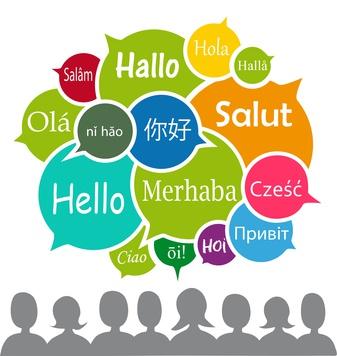 Hallo in verschiedenen Sprachen, Vektor