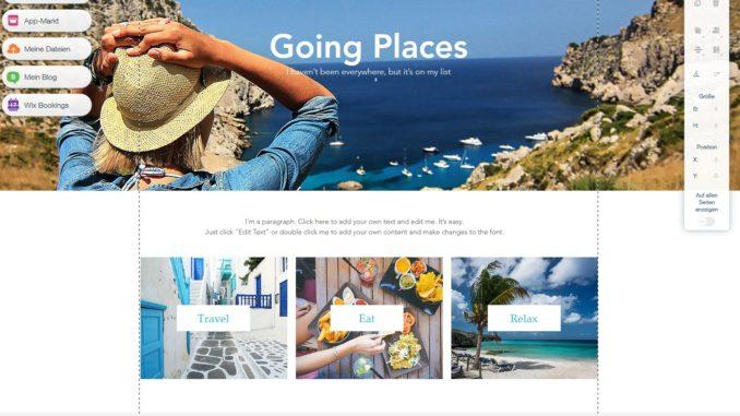 Blog Design bearbeiten