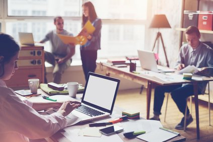 Teambüros sind auch zeitweise mietbar
