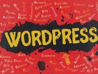 Wordpress 2018