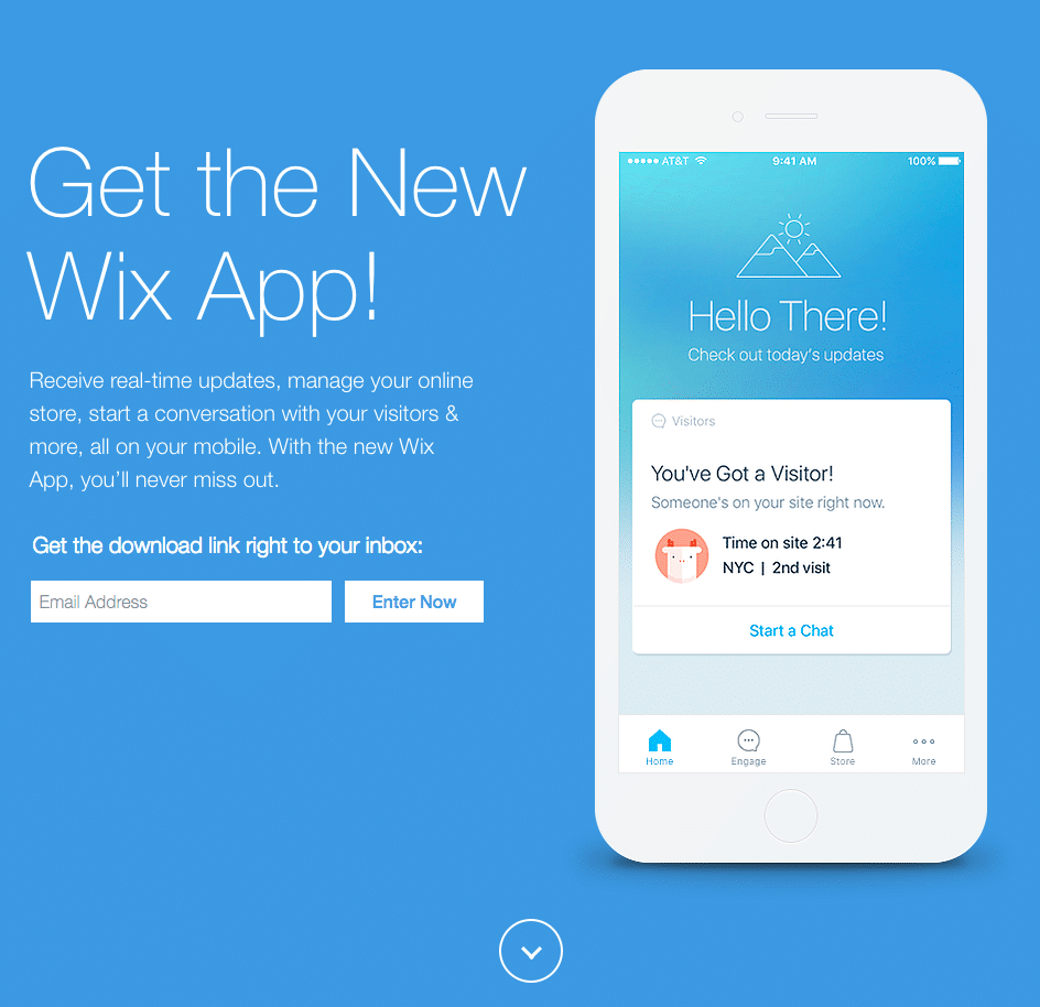 Wix Mobile App